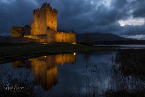 ross castle, ireland, Kerry