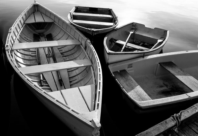 maine, harbor, lories, fishing village, boats, black and white,lobsterman,